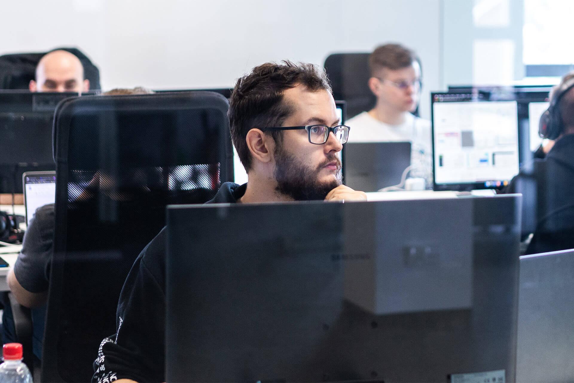 WordPress developers team working on project